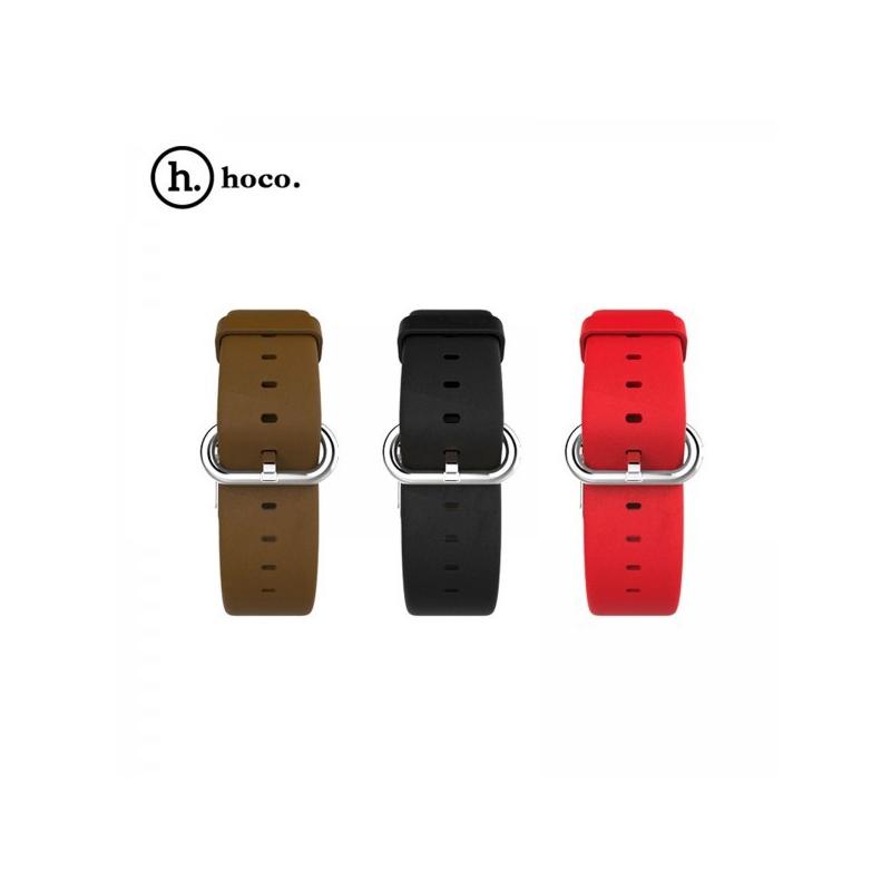 HOCO Classic kožený náramek pro Apple Watch 38mm