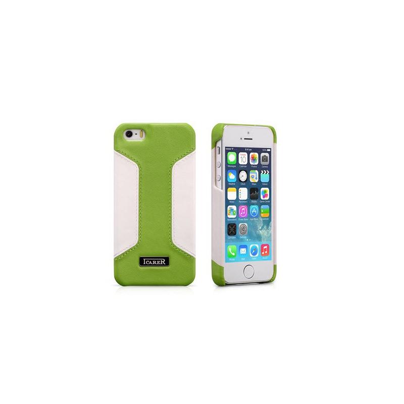 ICARER kožený obal pro iPhone 5, 5S RIP 518