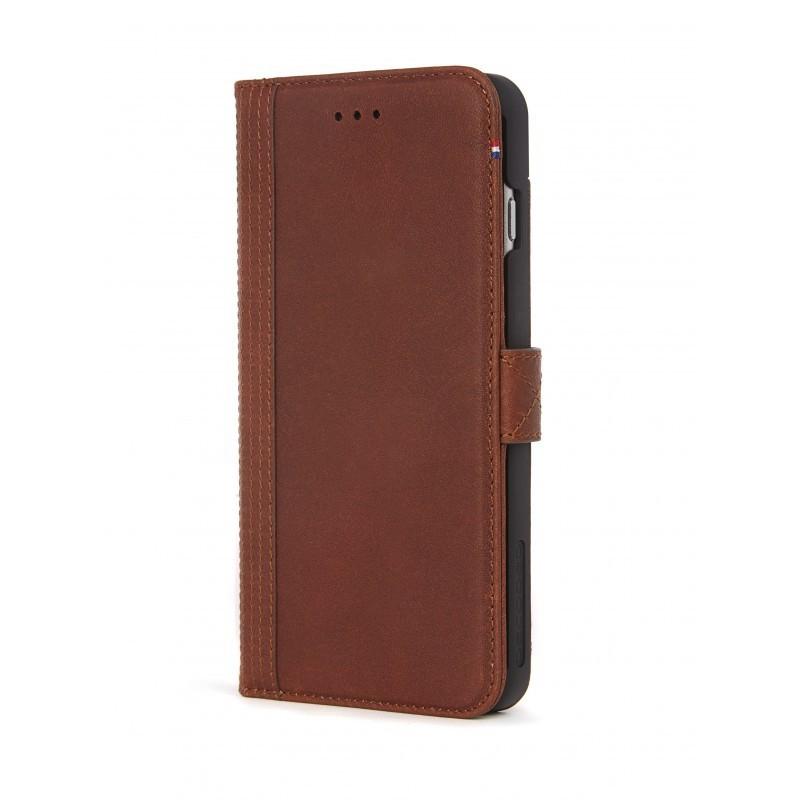 Pouzdro Decoded Leather Wallet Case pro iPhone 6/6S Plus, 7 Plus, 8 Plus - Cinnamon