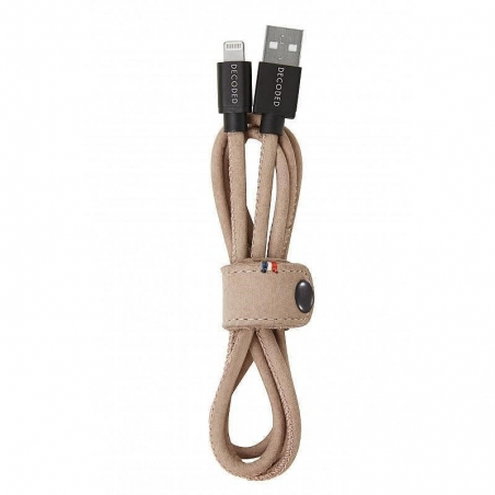 Decoded certifikovaný Lightning kabel - Rose 1,2m