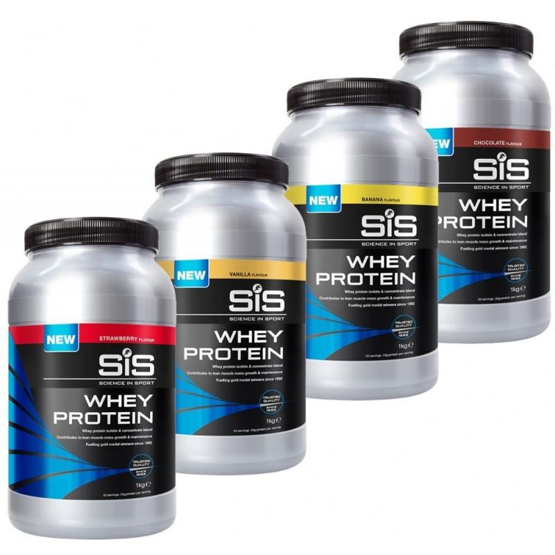SiS Whey Protein 1kg - protein