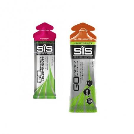 SiS Go Energy + Electrolyte Isotonic Gel 60 ml - různé příchutě