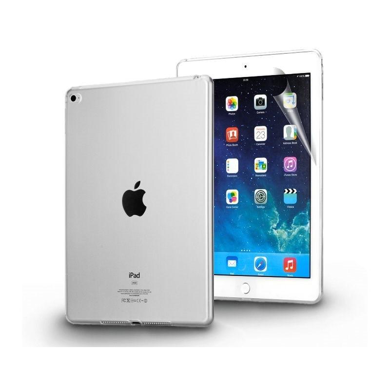 Ochranný silikonový zadní obal pro iPad Mini 4 - průsvitná