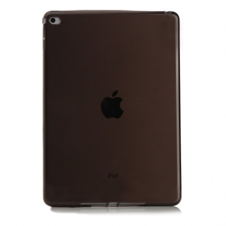 """Ochranný silikonový zadní obal pro iPad Pro 9,7"""" - černá průsvitná"""