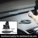 Pitaka MagMount Qi Pro Wireless Suction Cup Mount