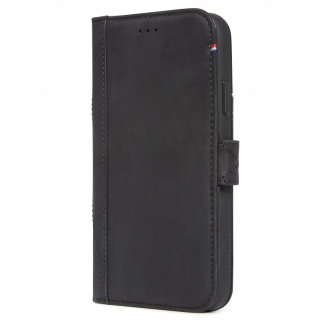 Pouzdro Decoded Leather Card Wallet Case pro iPhone XS Max - černé