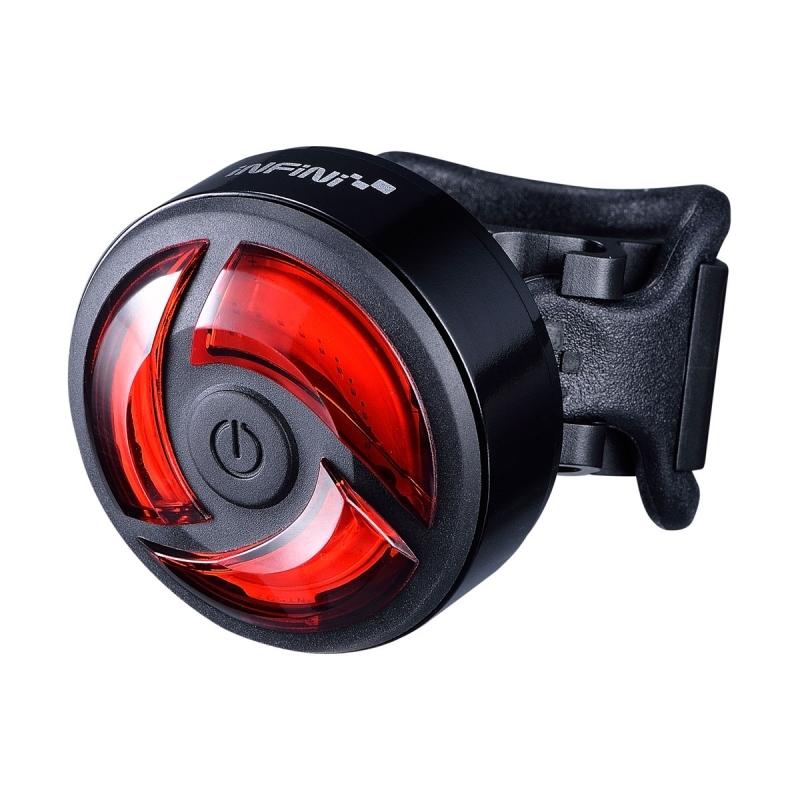 Světlo zadní INFINI TURBO 5F černé USB