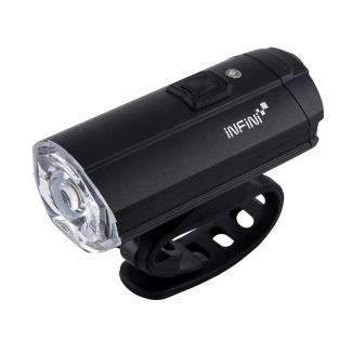 Světlo přední INFINI TRON 500 6f černé USB