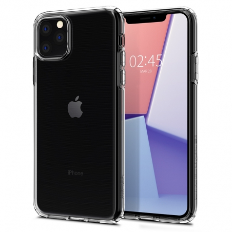Pouzdro SPIGEN Crystal Flex iPhone 11 Pro Max - průsvitné