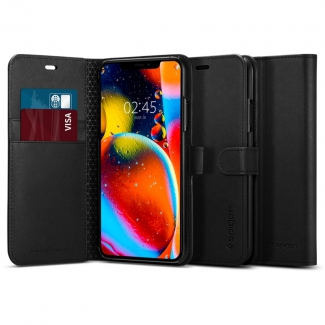Pouzdro SPIGEN Wallet S iPhone 11 Pro - černé