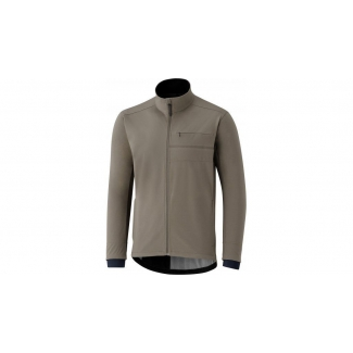 Bunda Shimano Transit Softshell Jacket (Morel Brown), hnědá