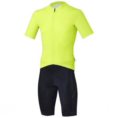 Shimano S-PHYRE Racing Skin Suit II, žlutá