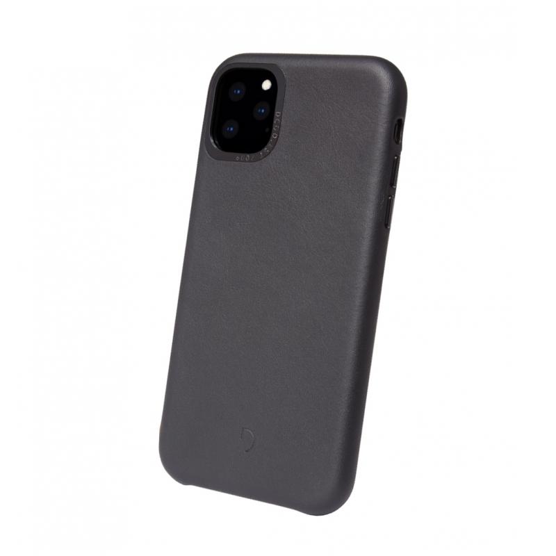 Pouzdro Decoded Leather BackCover pro iPhone 11 Pro Max - černé