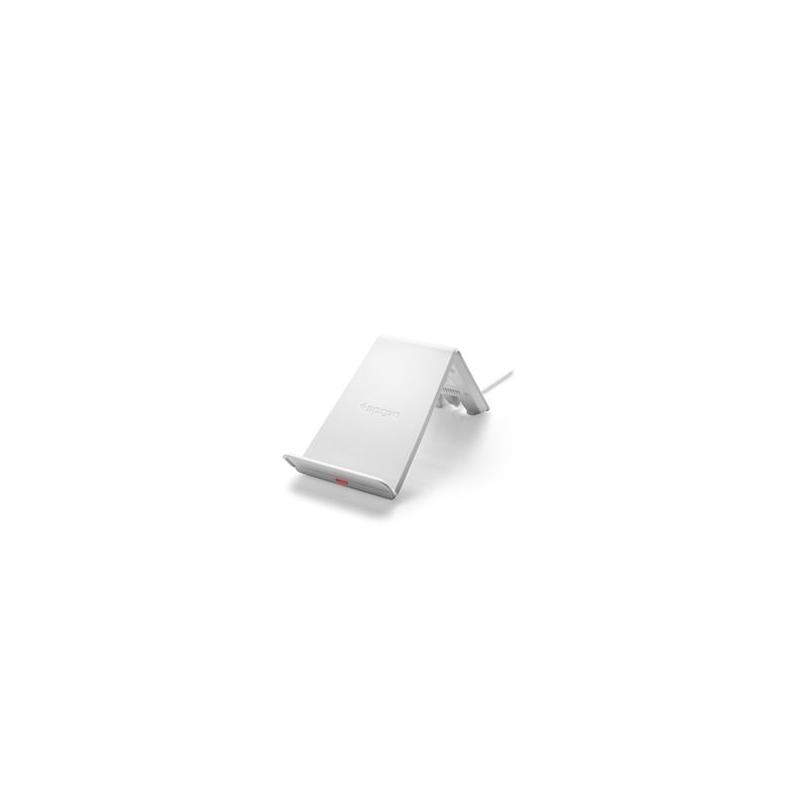 Spigen - Essential F303W bezdrátový nabíjecí stojánek
