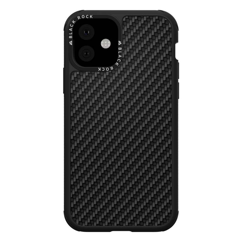 Pouzdro Black Rock Robust Case Real Carbon pro iPhone 11, černé