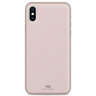 Pouzdro White Diamonds Ultra Thin Iced Case pro iPhone XS / X, růžově zlatý