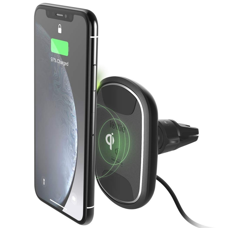 iOttie iTap Wireless 2 Fast Charging Magnetic Vent Mount