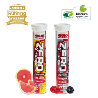 High5 Zero Xtreme Caffeine tabs - 20ks hydratačních tablet