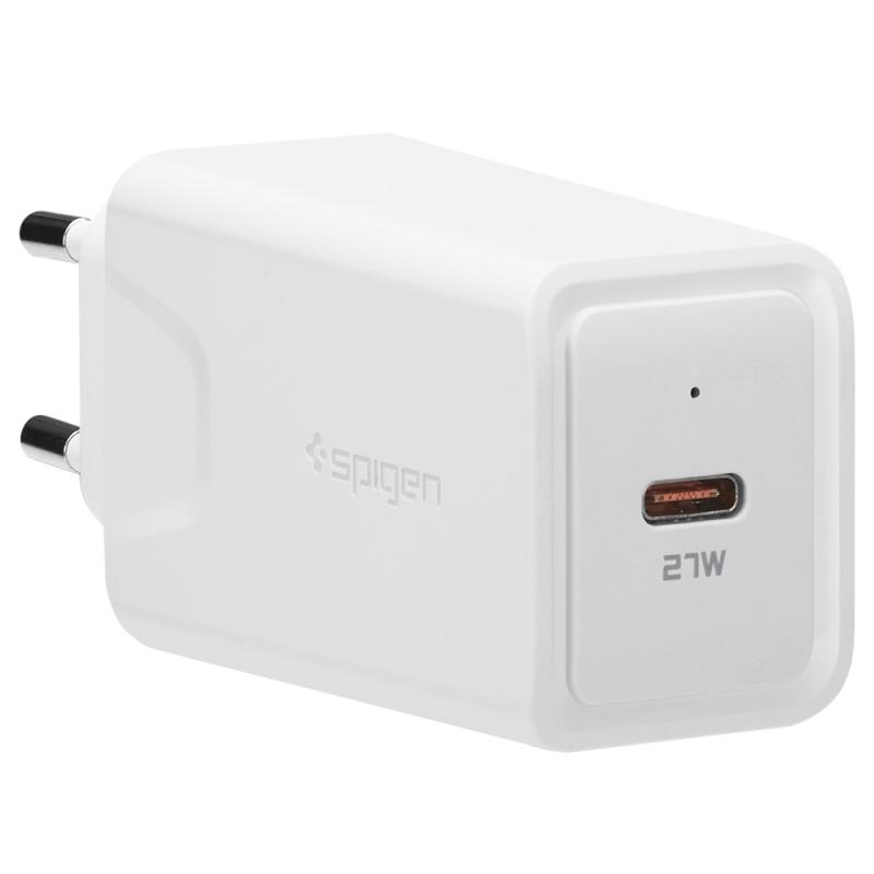 Spigen Essential USB-C Wall Charger F210EU - 27W rychlá nabíječka