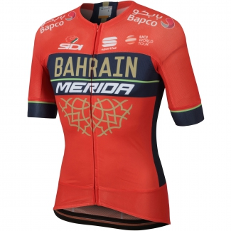 Sportful Bahrain-Merida Bodyfit Pro Evo Jersey (2018)