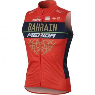 Sportful Bahrain-Merida Bodyfit Pro Wind Vest (2018)