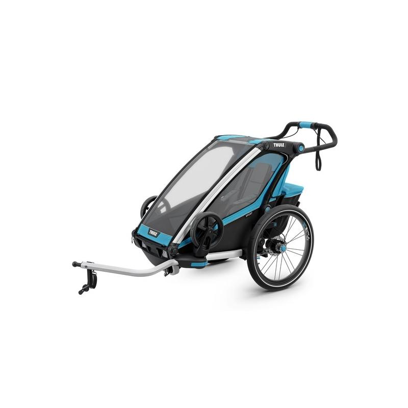 Dětský vozík THULE Chariot Sport 1, modrý
