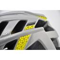 Přilba HQBC DIRTZ šedá / žlutá, vel. 52-58cm