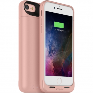 Mophie Power Case Juice Pack Air pro iPhone SE (2020) / 8 / 7 - 2525mAh - růžová