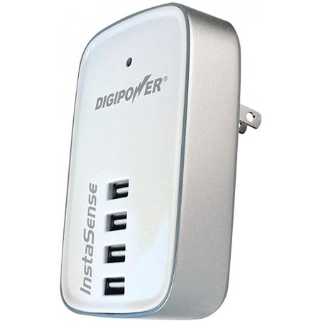 Digipower 4 Port USB Charger, Bílý
