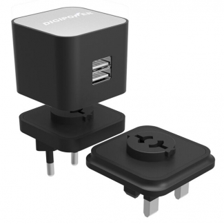 DIGIPOWER Dual USB Wall Charger