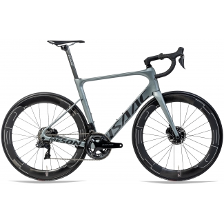 Kolo ISAAC Meson Disc Olive Grey Ultegra R8050 Di2 55 cm