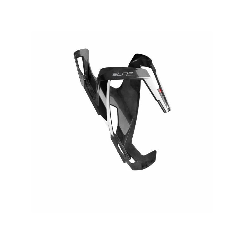 Košík ELITE VICO CARBON černo/bílý lesklý