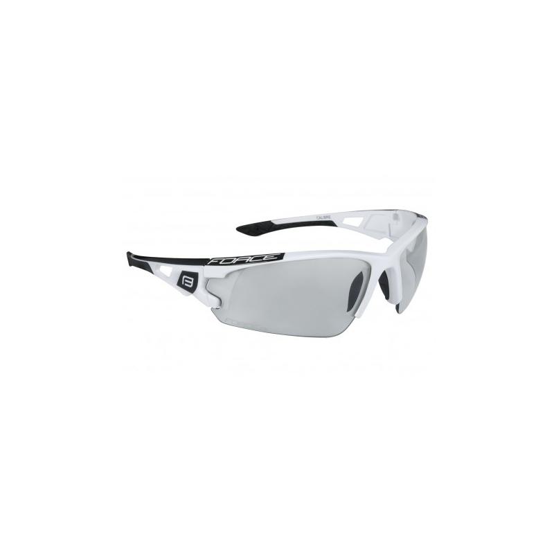 FORCE brýle CALIBRE, bílé, fotochromatické skla