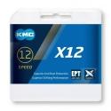 Řetěz KMC X 12 EPT stříbrná, 126 čl.