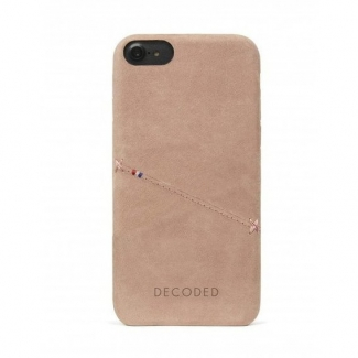 Pouzdro Decoded Leather Case pro iPhone 6, 6S, 7, 8, SE (2020) - Rose