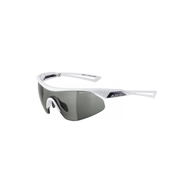 Alpina brýle NYLOS SHIELD VL, bílé, fotochromatické skla