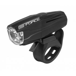 Přední světlo FORCE Shark 500LM USB, černé