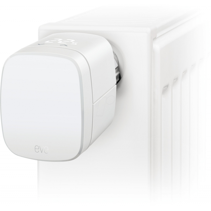 Elgato Eve Thermo Smart Radiator Valve, Apple HomeKit (Chipset 2020) - 4.gen.