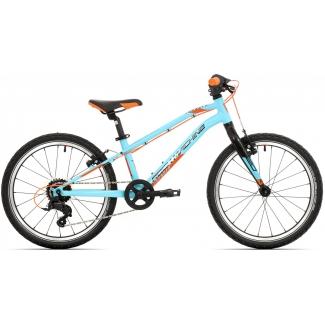 Rock Machine Thunder 20 VB, model 2021, modrá / černá / oranžová