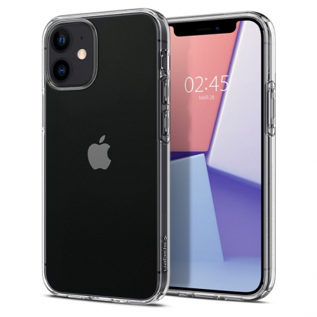 Pouzdro Spigen Crystal Flex iPhone 12 mini - průsvitné