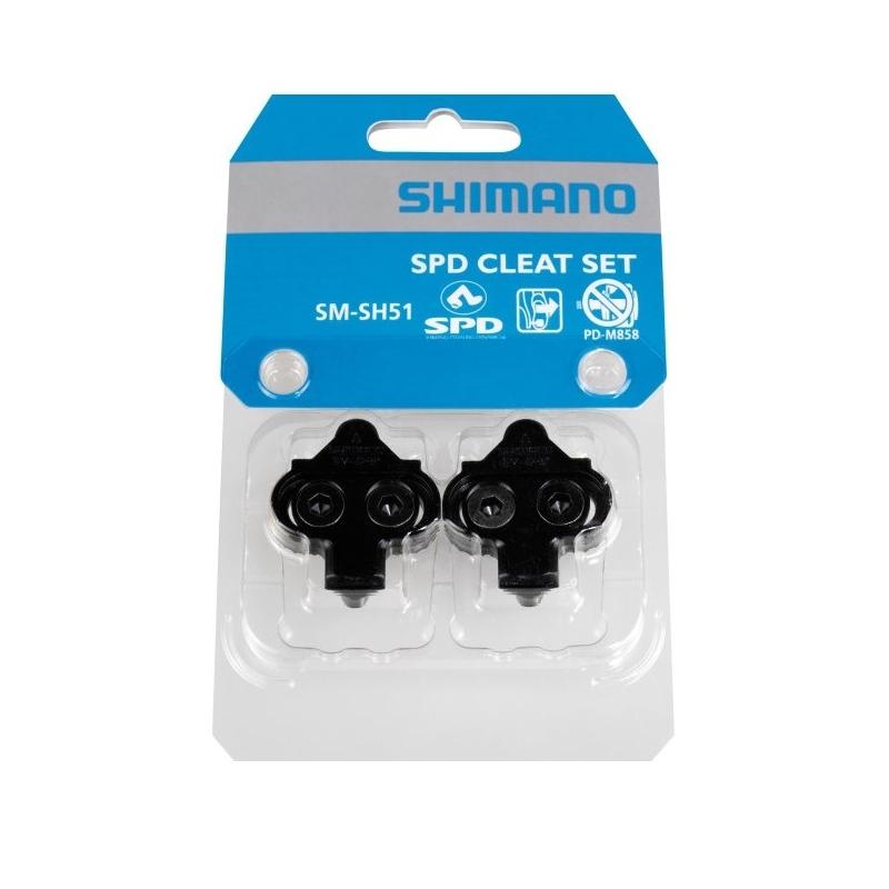 Zarážky Shimano SM-SH51 SPD, černé