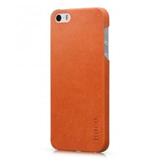 Kožená nálepka pro iPhone 5, 5S, SE HOCO