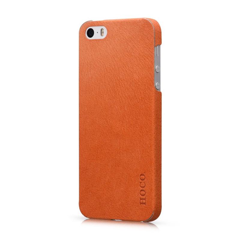 Kožená nálepka pro iPhone 5, 5S HOCO