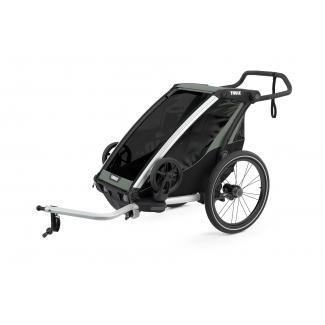 Dětský vozík THULE Chariot Lite 1, šedý (2021)