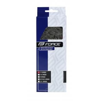 Řetěz Force P1102 pro 11-kolo, stříbrná 116 čl.