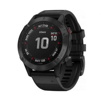 Garmin Fénix 6X PRO Black/Black Band - GPS smart hodinky