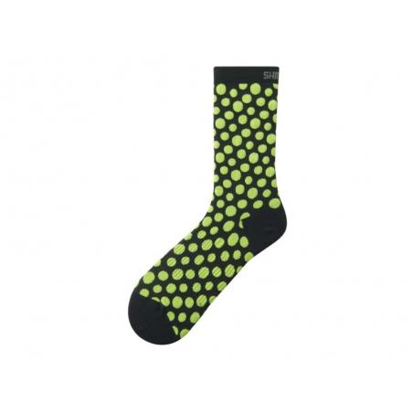 Ponožky Shimano Original Tall, černo-žluté