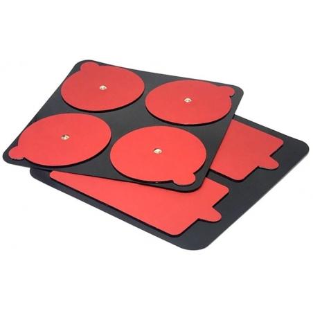 PowerDot Replacement Pads Gen 2, red