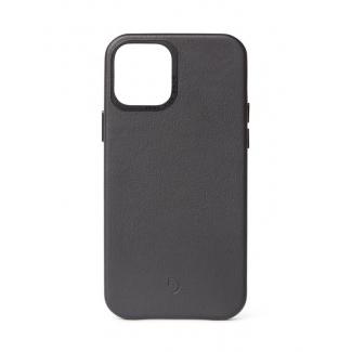 Pouzdro Decoded Leather BackCover pro iPhone 12 mini - černé