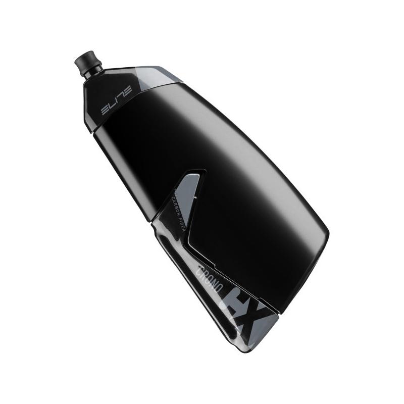 Set košík ELITE CRONO CX karbon 2021 + láhev 500ml